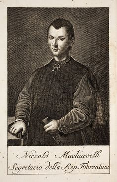 """Scholars often note that Machiavelli glorifies instrumentality in statebuilding, an approach embodied by the saying """"The ends justify the means."""" It should be noted that this quote has been disputed and may not come from Niccolò Machiavelli or his writings."""