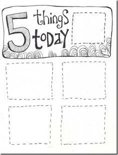 Daily goal chart. Every day have one goal and accomplishment to complete.