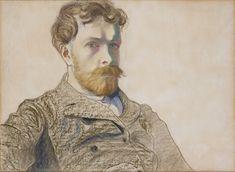 Stanisław Wyspiański, Autoportret  |  1903 pastel, papier, 46 × 64 cm, Muzeum Narodowe w Krakowie