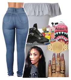 """""""no holding back"""" by bigdaddy-ni ❤ liked on Polyvore featuring Miss Selfridge and Nixon"""