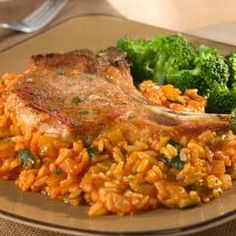 Pork Chops With Red Rice Recipe on Yummly. @yummly #recipe
