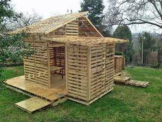 Shipping Pallet House for the Homeless (http://blog.hgtv.com/design/2014/04/04/shipping-pallet-house-for-the-homeless/?soc=pinterest)