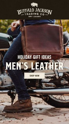 If you're looking for Christmas gift ideas for him this year, check out our 2020 Holiday Gift Guide for men. Whether you're shopping for your husband, boyfriend, dad, or brother, our leather bags are a unique way to show him you care. We've got you covered with the best men's gift ideas for guys who love rugged style and a great adventure.