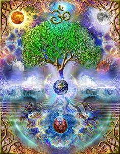 Beautiful tree of life
