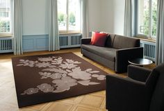 FELTRO RICAMO - Designer Rugs from Ruckstuhl ✓ all information ✓ high-resolution images ✓ CADs ✓ catalogues ✓ contact information ✓. Wall Carpet, Rugs On Carpet, Carpets, Hotel Logo, Rug Shapes, Jacquard Weave, All The Colors, Hand Weaving, Kids Rugs