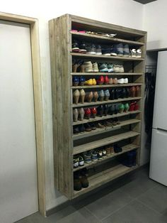 shoe holders giant shoe rack made out of discarded pallets shoe holders kmart