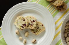 A Tale of One Foodie's Culinary Adventures: Pistachio Cranberry Icebox Cookies