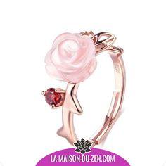 Rétro Vintage en Acier Inoxydable Fleur Rose promesse Statement Cocktail Bague