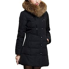 Partiss Womens Faux Fur Down Coat, XL, Black Partiss http://www.amazon.com/dp/B00QYSM1UO/ref=cm_sw_r_pi_dp_KzN3vb13VKV4W
