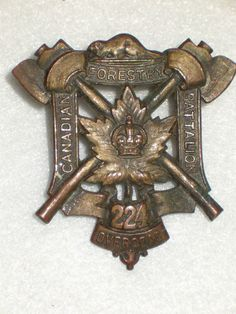 224th Bn (Forestry) Cap Badge