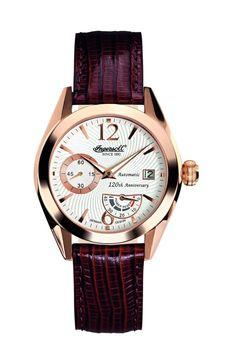 Men watches : Gold watches for men Ingersoll