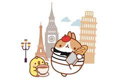 Molang in Paris