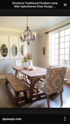Chic Dining Room Table Bench Diy 40 Bench For The Dining Table Shanty 2 Chic Farmhouse Dining Room Table, Reclaimed Wood Dining Table, Diy Dining Table, Dining Room Bench, Modern Dining Room Tables, Elegant Dining Room, Dining Table Design, Dining Room Sets, Wood Table