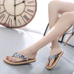 Cheap fashion slippers, Buy Quality slippers women directly from China women slippers Suppliers: Summer Slippers Women Fashion Casual Flat Flip Flops Sandals Loafers Bohemia Shoes Zapatillas Tongs Femme ete Women Shoes Best Flip Flops, Flip Flop Shoes, Mothers Day Signs, Foams Shoes, Red High Heel Shoes, Summer Slippers, Fashion Sandals, Childrens Shoes, Recipes