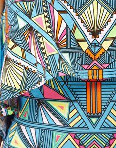 Mara Hoffman Inca Print Layered Jersey Beach Dress