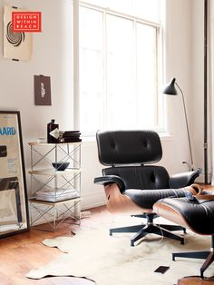 Eames® Lounge and Ottoman | Design Within Reach