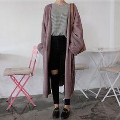 monroll - Open-Front Cardigan Coat
