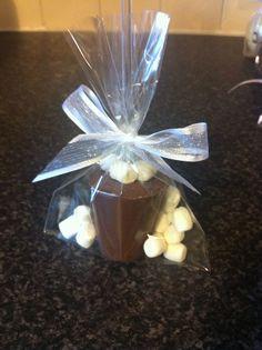 10 x Personalised Belgian Chocolate Stirrers