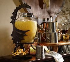 Dragon Drink Dispenser Stand #potterybarnOhhhhh My Next One ! Work Of Art !!