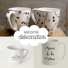 Kreative Keramik Dekoration: Dekoideen | Aequivalere