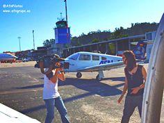 Entrevista de la #TVG a Aeroflota del Noroeste.