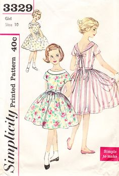 Vintage Bouffant Dress With Roll Collar  by daisyepochvintage, $10.00