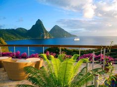 # 62. Jade Mountain St. Lucia Readers' Choice Rating: 95.1 Rooms: 97.0 Service: 95.5 Food: 92.5 Location: 97.0 Design: 97.0 Activities: 91.7
