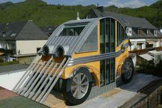 Casa coche