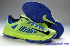 newest 46de5 e9383 Buy Mens Nike Hyperdunk Low Poison Green Hyper Blue Black New 554671-302  For Wholesale