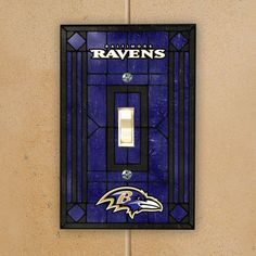 Baltimore Ravens #2 Purple Light Switch Covers Football NFL Home Decor Outlet
