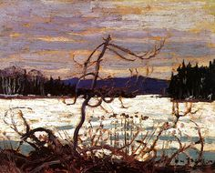 Tom Thomson, Spring Ice, Canoe Lake, 1915 - Art Gallery of Ontario Canadian Painters, Canadian Artists, Emily Carr Paintings, Group Of Seven Paintings, Tom Thomson Paintings, Catalogue Raisonne, Art Gallery Of Ontario, Canada Images, Art Nouveau