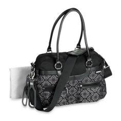 JJ Cole® Satchel Bag in Charcoal Infinity - BedBathandBeyond.com