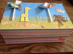 One Of The Entries To The Shoebox Decorating Contest. The Prize Is A Pair Of
