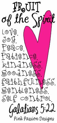 Fruit of the spirit Galations Bible Art, Bible Verses, Book Of Galatians, Peaceful Heart, Girls Bible, Prayer Wall, Think Happy Thoughts, Fruit Of The Spirit, Religious Gifts