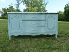 Pick your paint color!!! - Shabby Chic Drexel French Provincial Buffet