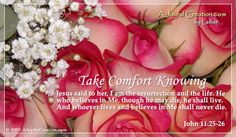 Take Comfort eCard - Free A Joyful Creation Greeting Cards Online