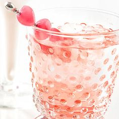 Pink Jelly Bean - vanilla vodka, ginger ale, maraschino cherry juice and pink jelly beans