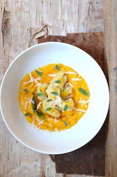 Food Wanderings: SquashLove: Butternut Squash Gnocchi in Sage, Garlic & Butternut Puree