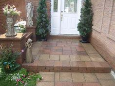 front porch with pavers | front porch pavers image search results