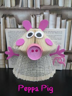Book Folding Peppa Pig Book Art Tutorial
