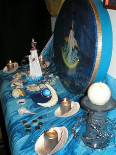 Altar to water
