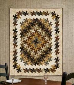 TWISTER TAPESTRY BALI QUILT KIT