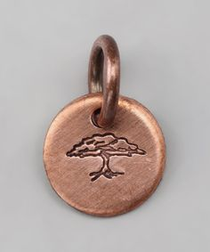 Take a look at this Copper Expressions Family Tree Charm by FIVE on #zulily today!