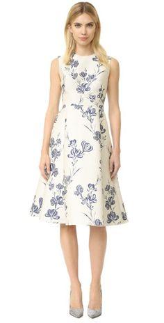 Lela Rose A-Line Dress | SHOPBOP