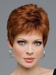 MARIAN Fashion Layered Synthetic Short Straight Wigs for Women with a Wig Cap >>> See this great product.
