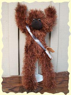 Chewbacca Sock Monkey
