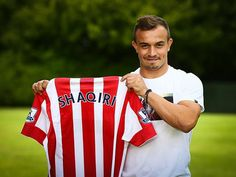 DEAL DONE: Stoke City have signed Xherdan Shaqiri for £12m from Inter Milan. (Source: @stokecity)