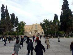 Syntagma square  Athens Hellas