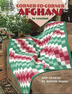 Good directions for the diagonalcrochet corner to corner afghan to corner afghans to crochet 5 diagonal patterns dt1010fo