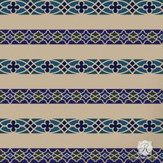 Fretwork Border Craft Stencil Set from Royal Design Studio